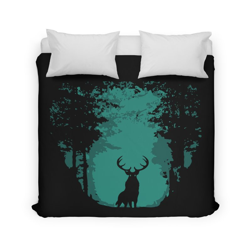 Forest Home Duvet by RojoSalgado's Artist Shop