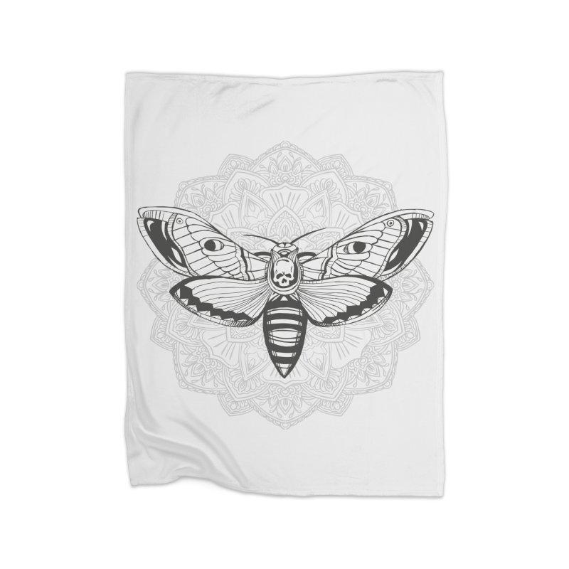 Death Moth Home Blanket by RojoSalgado's Artist Shop