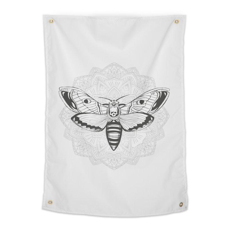 Death Moth Home Tapestry by RojoSalgado's Artist Shop