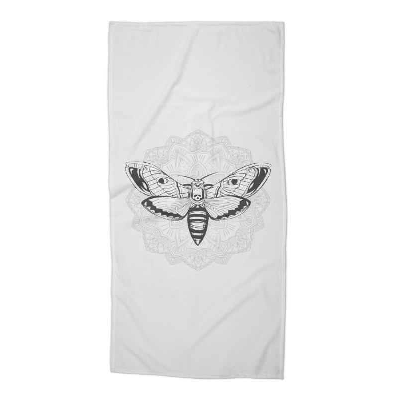 Death Moth Accessories Beach Towel by RojoSalgado's Artist Shop