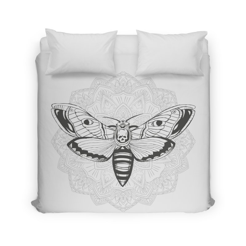 Death Moth Home Duvet by RojoSalgado's Artist Shop