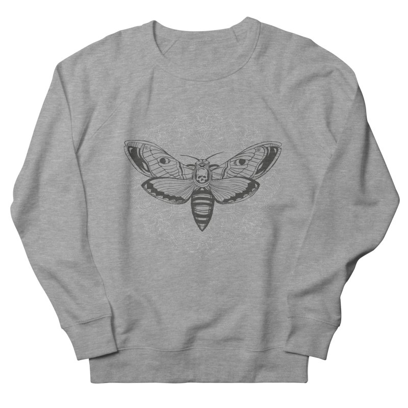 Death Moth Men's Sweatshirt by RojoSalgado's Artist Shop