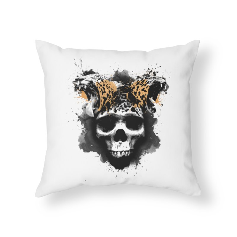WILD INK Home Throw Pillow by RojoSalgado's Artist Shop