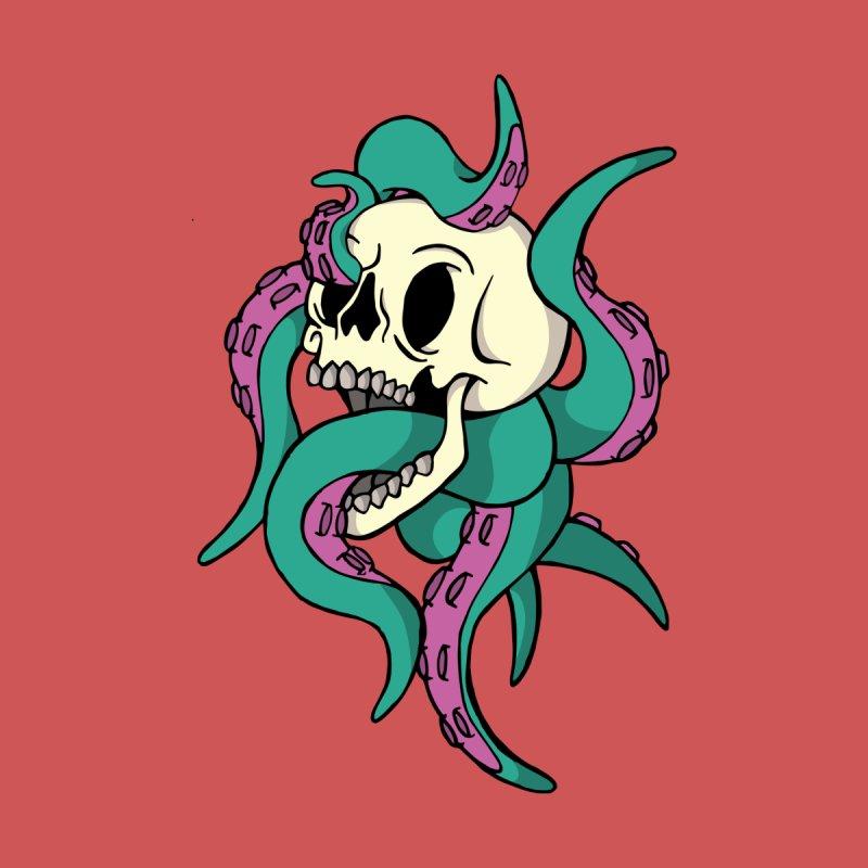 Octopus and skull by RojoSalgado's Artist Shop