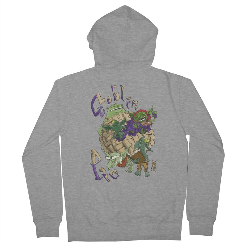 Goblin Pie! Men's Zip-Up Hoody by