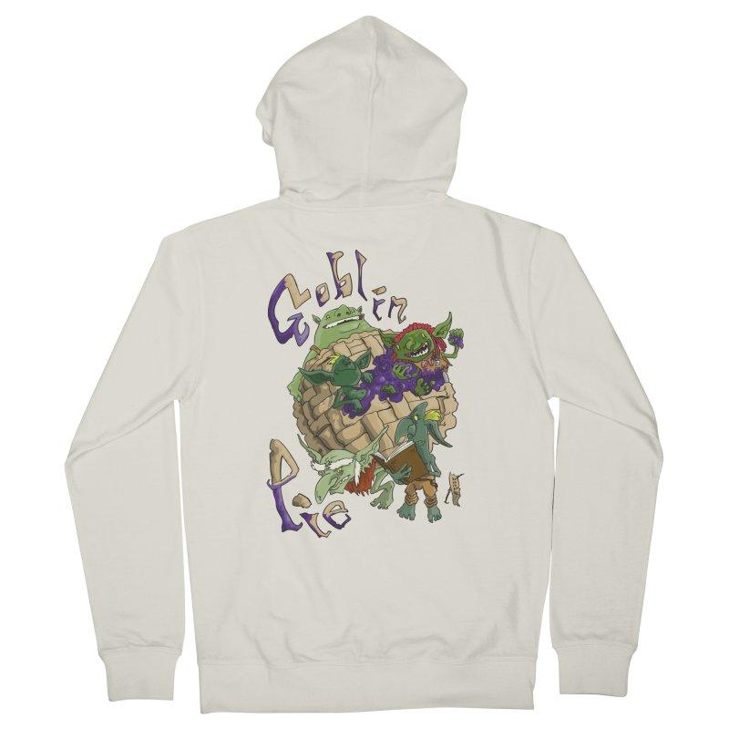 Goblin Pie! Men's Zip-Up Hoody by
