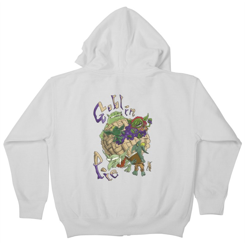 Goblin Pie! Kids Zip-Up Hoody by