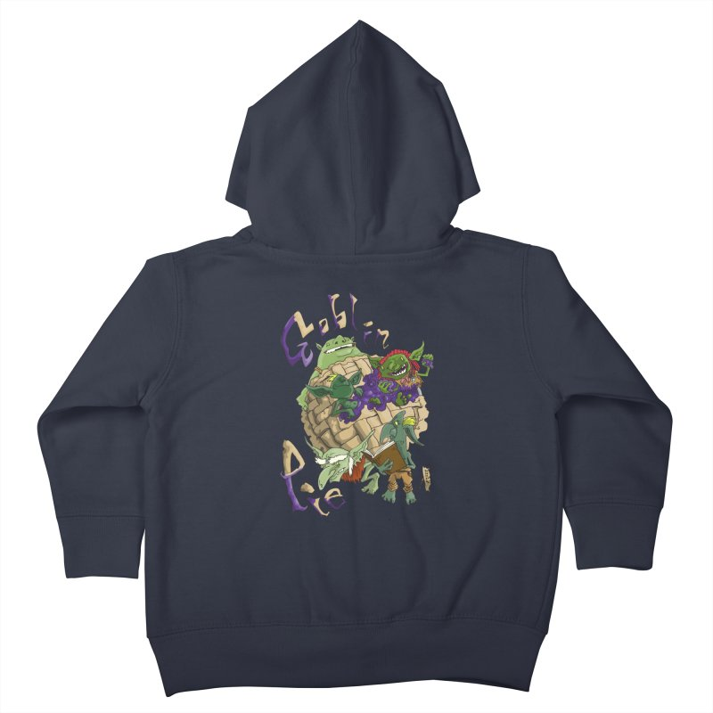 Goblin Pie! Kids Toddler Zip-Up Hoody by