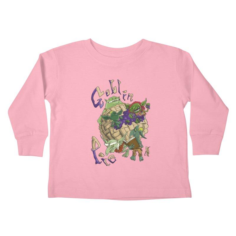Goblin Pie! Kids Toddler Longsleeve T-Shirt by