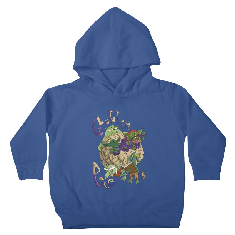 Goblin Pie! Kids Toddler Pullover Hoody by