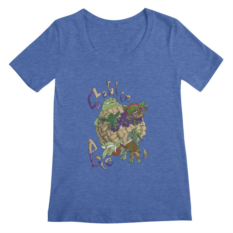 Goblin Pie! Women's Scoopneck by