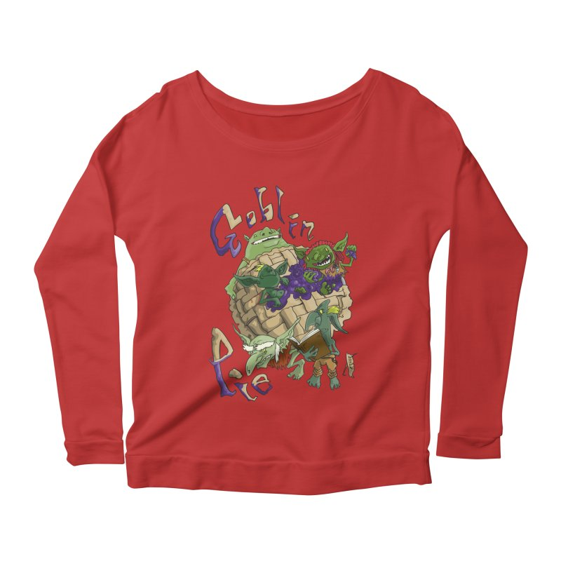 Goblin Pie! Women's Longsleeve Scoopneck  by