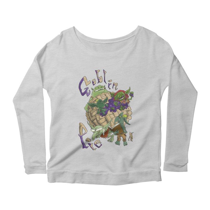 Goblin Pie! Women's Longsleeve Scoopneck  by