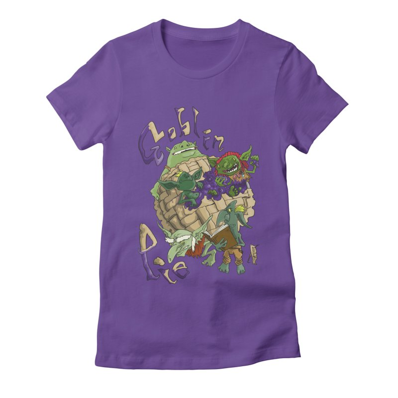 Goblin Pie! Women's Fitted T-Shirt by