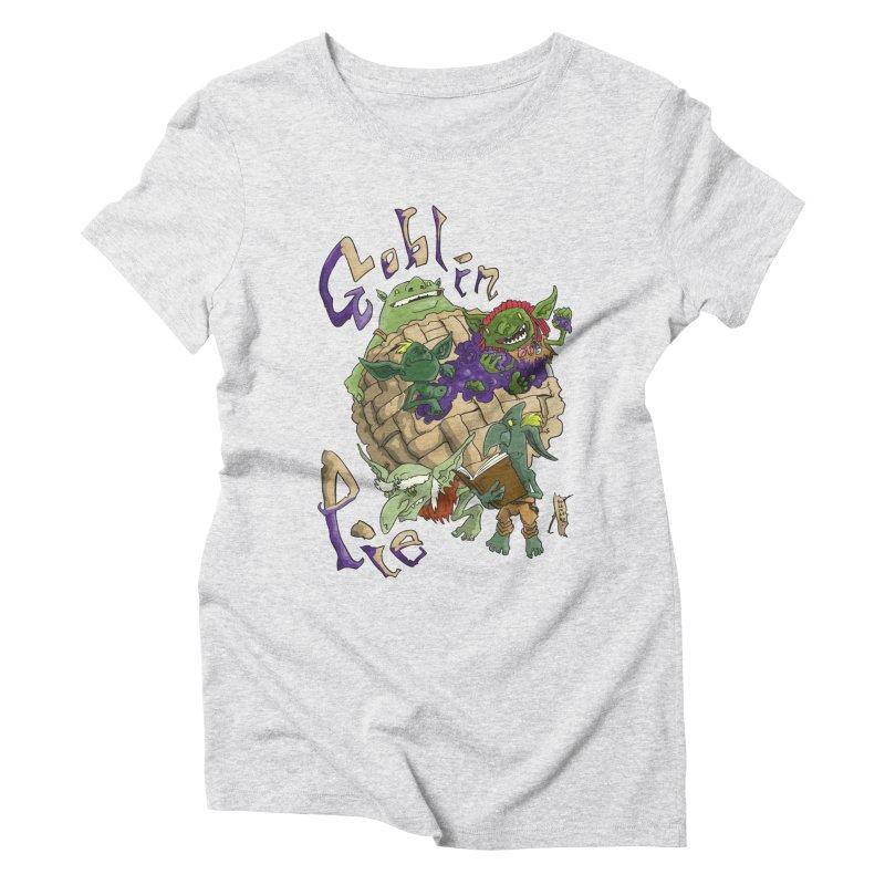 Goblin Pie! Women's Triblend T-Shirt by