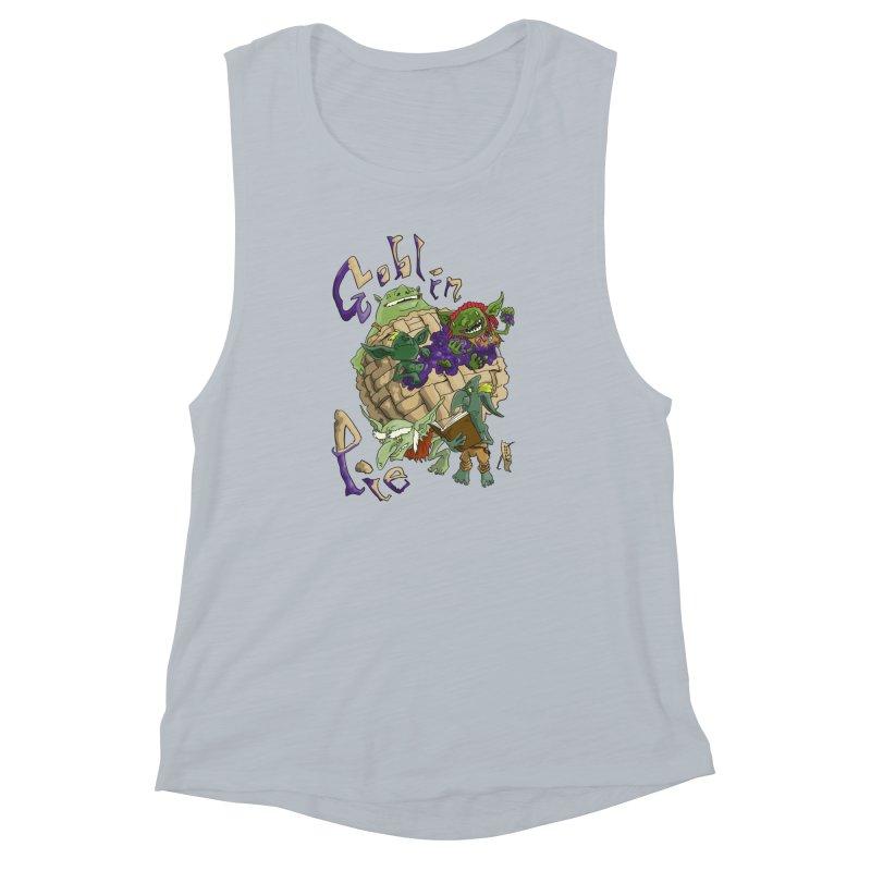 Goblin Pie! Women's Muscle Tank by