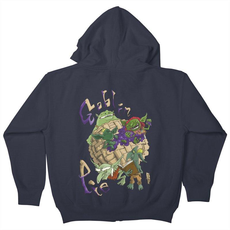 Goblin Pie! Kids Zip-Up Hoody by