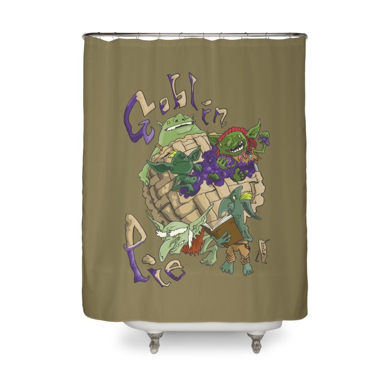 Goblin Pie! Home Shower Curtain by