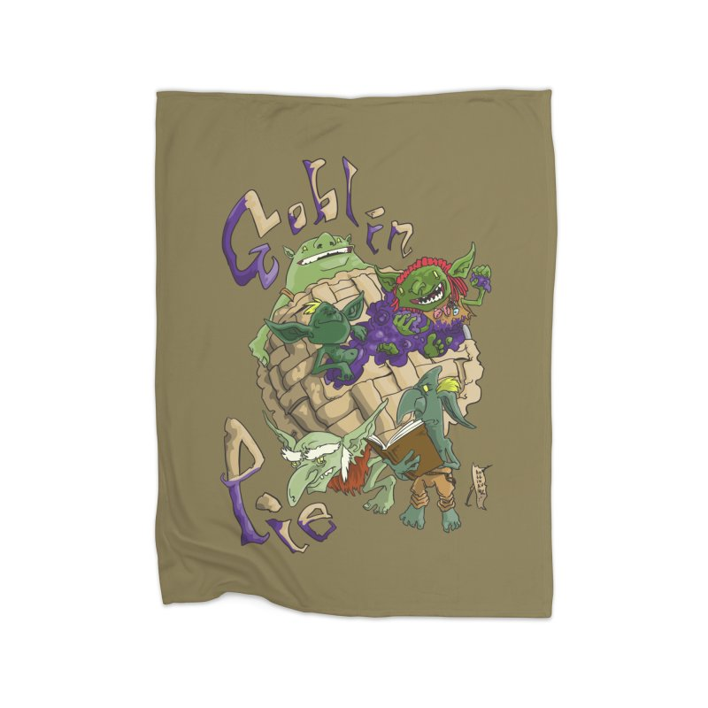 Goblin Pie! Home Blanket by
