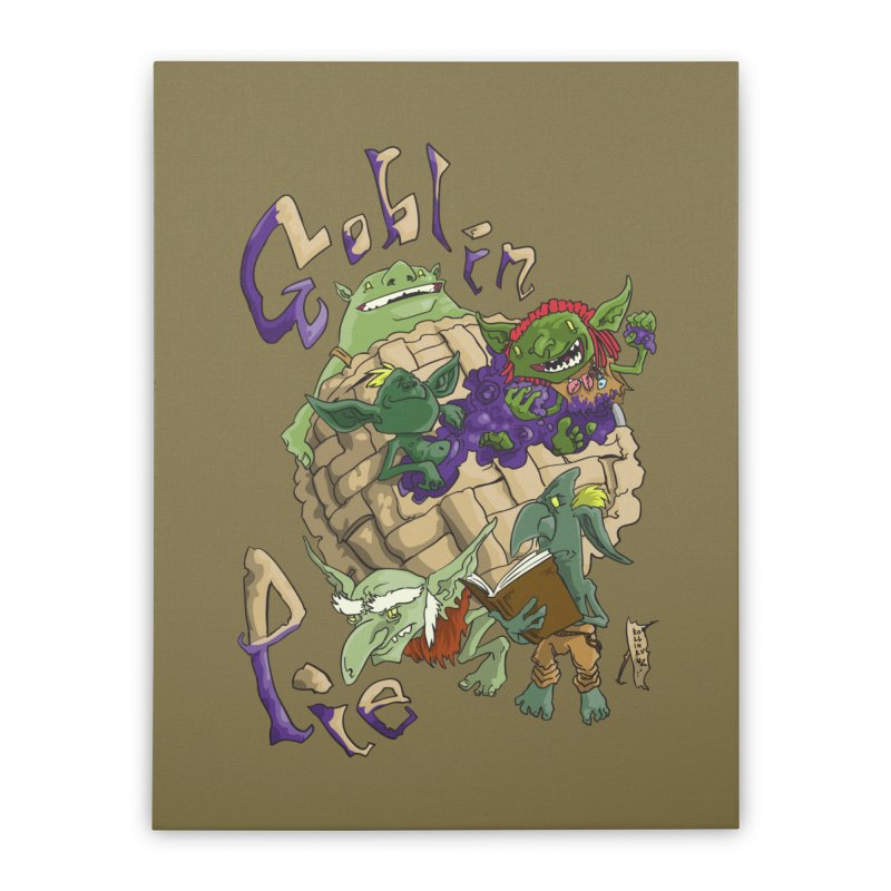 Goblin Pie! Home Stretched Canvas by