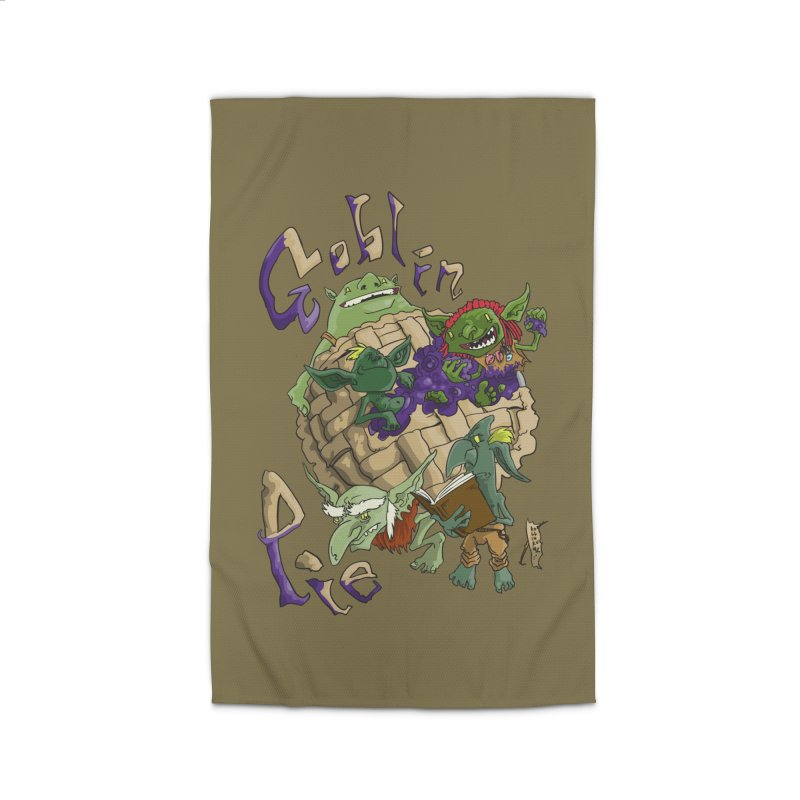 Goblin Pie! Home Rug by