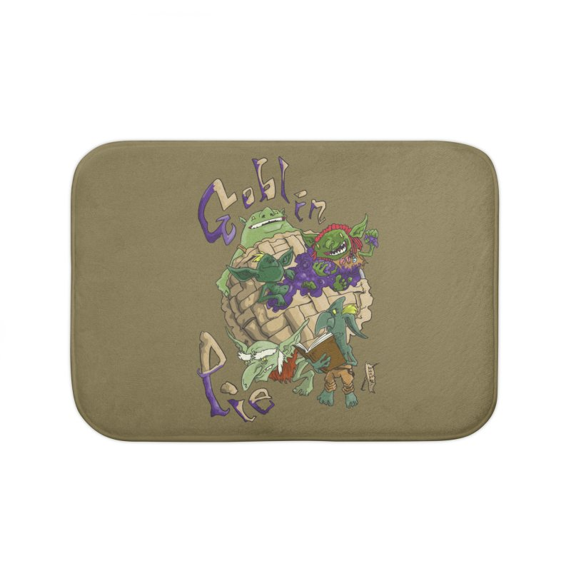 Goblin Pie! Home Bath Mat by