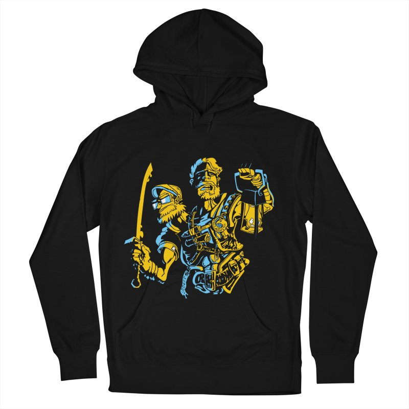 2-Headed Hero Women's French Terry Pullover Hoody by