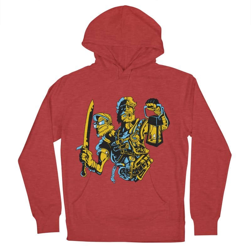 2-Headed Hero Men's French Terry Pullover Hoody by