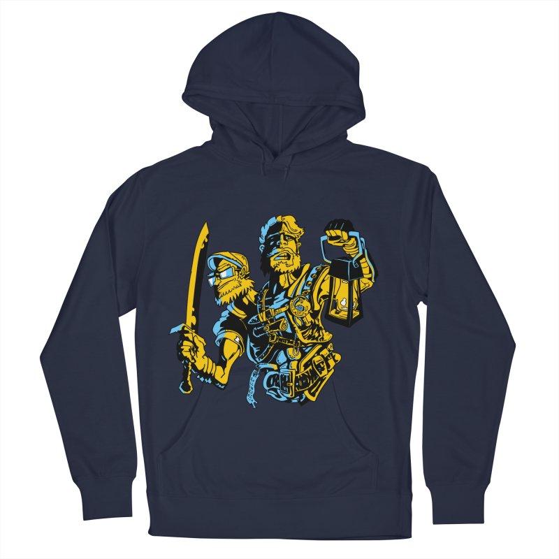 2-Headed Hero Men's Pullover Hoody by