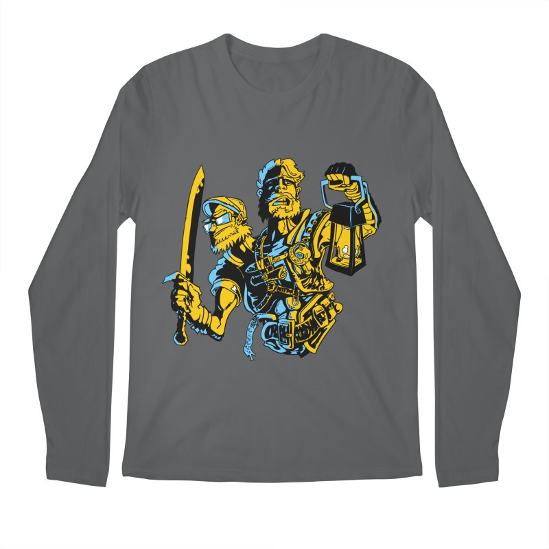 2-Headed Hero Men's Longsleeve T-Shirt by