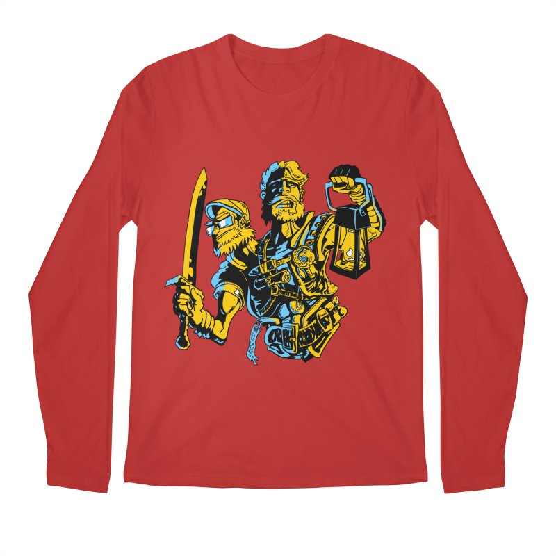 2-Headed Hero Men's Regular Longsleeve T-Shirt by