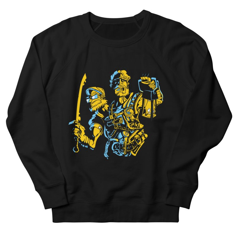 2-Headed Hero Men's French Terry Sweatshirt by