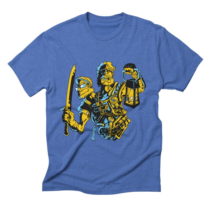 2-Headed Hero Men's Triblend T-Shirt by