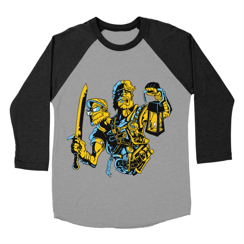 2-Headed Hero Women's Baseball Triblend Longsleeve T-Shirt by