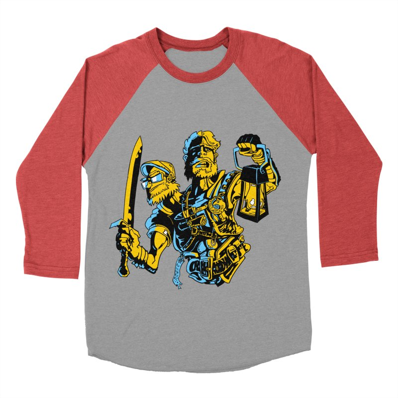 2-Headed Hero Men's Baseball Triblend T-Shirt by