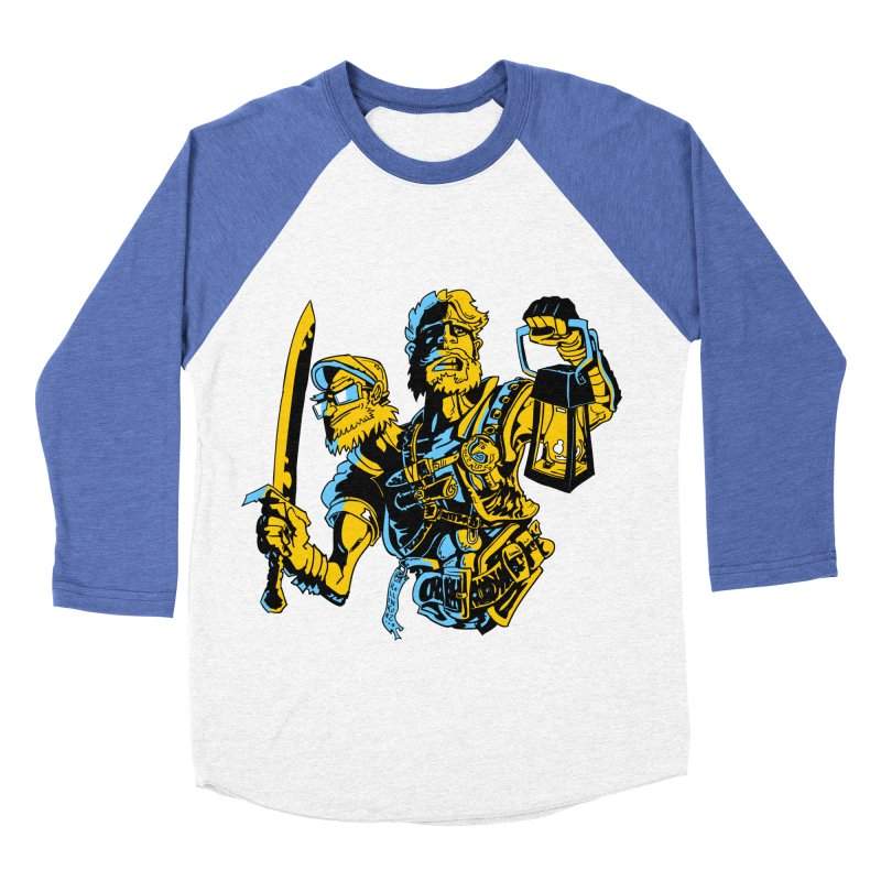 2-Headed Hero Men's Baseball Triblend Longsleeve T-Shirt by