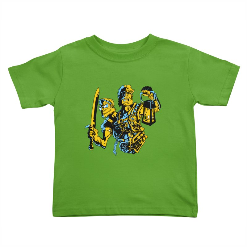 2-Headed Hero Kids Toddler T-Shirt by