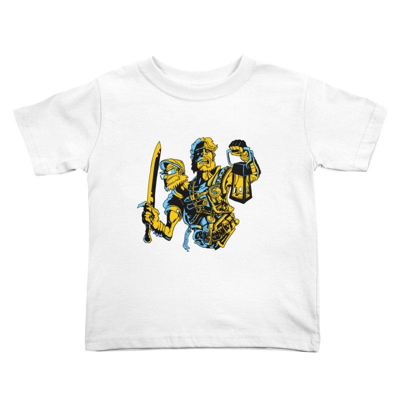 2-Headed Hero Kids Toddler T-Shirt by