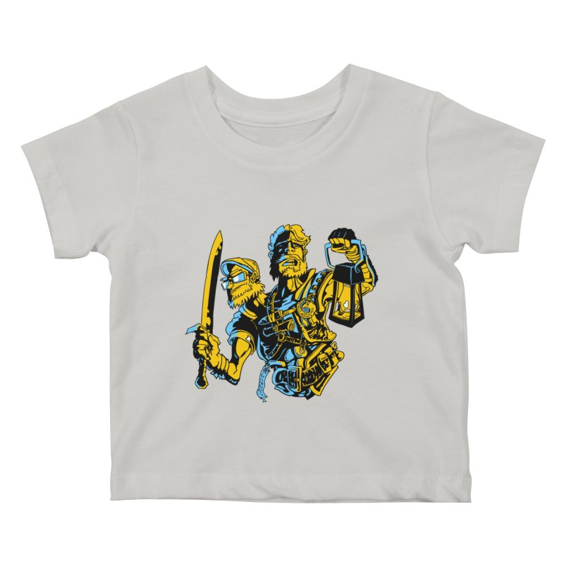 2-Headed Hero Kids Baby T-Shirt by