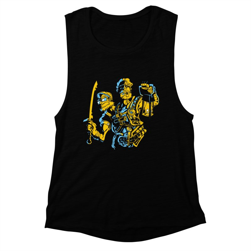2-Headed Hero Women's Muscle Tank by