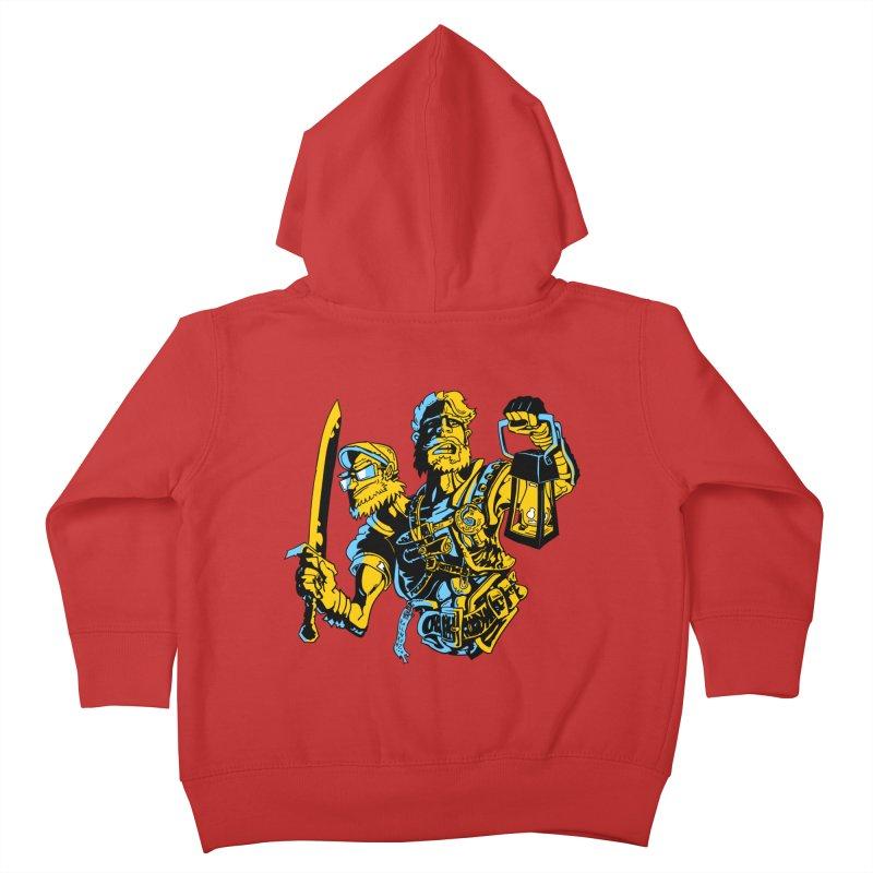 2-Headed Hero Kids Toddler Zip-Up Hoody by