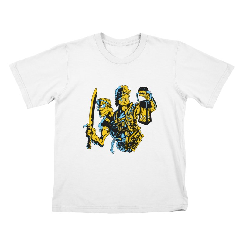 2-Headed Hero Kids T-Shirt by
