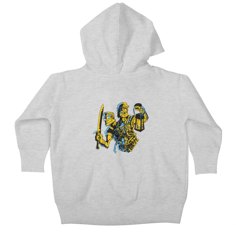 2-Headed Hero Kids Baby Zip-Up Hoody by