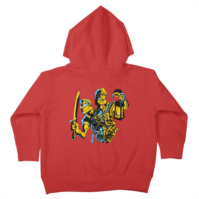 2-Headed Hero Kids Toddler Zip-Up Hoody by