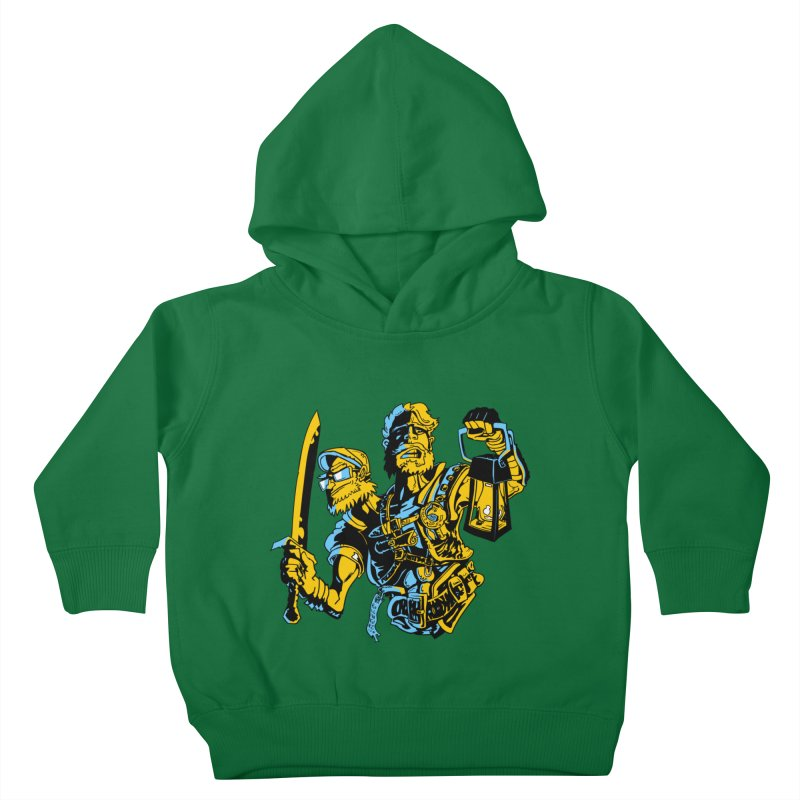 2-Headed Hero Kids Toddler Pullover Hoody by