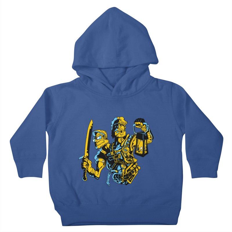 2-Headed Hero Kids Toddler Pullover Hoody by