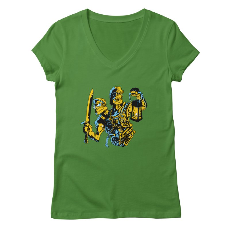 2-Headed Hero Women's Regular V-Neck by