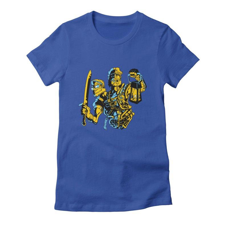 2-Headed Hero Women's Fitted T-Shirt by