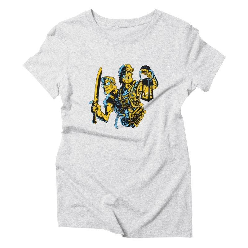 2-Headed Hero Women's Triblend T-Shirt by