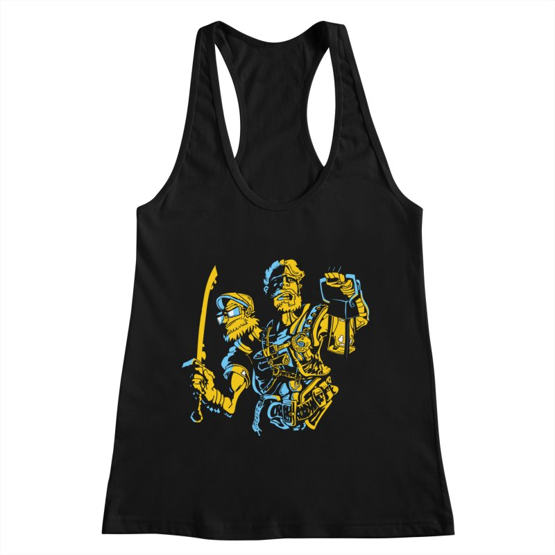 2-Headed Hero Women's Racerback Tank by